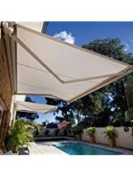 Deck Canopy Awning Patio Awnings Amazon Com