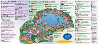 Coral Reef Map Of The World by Walt Disney Epcot Center