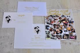 60th birthday celebration invitation design fee photo collage design