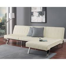 white futon lounger roof fence u0026 futons the best quality