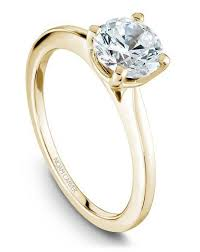 engagement ring gold noam carver engagement rings