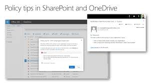 Sample Email To Customer For Business by Data Loss Prevention In Onedrive For Business Sharepoint Online