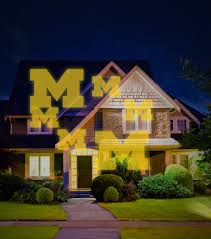 Light Yellow House by University Of Michigan Wolverines Team Pride Light Joann