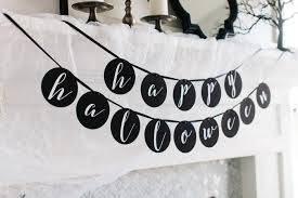how to style a glam halloween mantel the tomkat studio blog