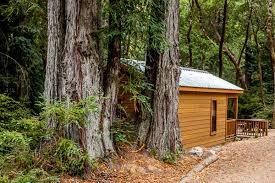 stylish cottages cabins to camp out in northern california 7x7