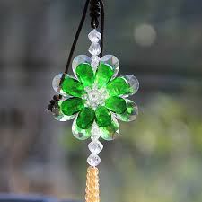 aliexpress buy 4 color glass hanging ornaments car