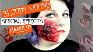 special effects makeup for halloween bloody cuts special effects makeup tutorial halloween makeup