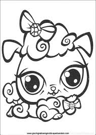 coloring littlest pet shop littlest pet shop coloring