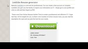 The Best Resume Builder Free by Create A Resume Online Best Resume Templates