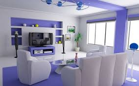 living room cool and slim floating wall shelves above white