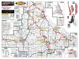 Iowa State Campus Map Iowa Snowmobile Trails