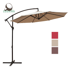 10 Ft Patio Umbrella by Amazon Com Cobana 10 Ft Patio Umbrella Offset Hanging Umbrella