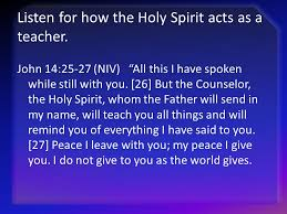 Holy Spirit My Comforter Seeking The Counselor October Ppt Download