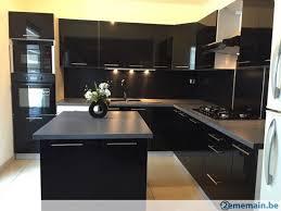 cuisine 2ememain meuble de cuisine laquee brillant 7 elements neuve a vendre