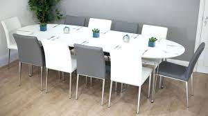 large oval dining table seats 10 oval extending dining table seats