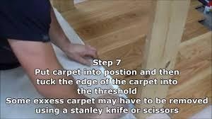 Laminate Floor Installation Guide How To Installation Guide Ukfs Luxury Threshold Range Hd Youtube
