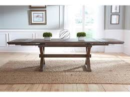 kincaid furniture foundry seven piece rustic dining set with bench