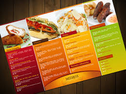 good menu design