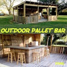 diy pallet bar who knew all created