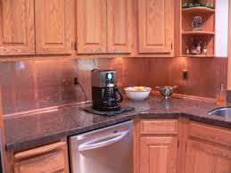 Copper Kitchen Backsplash by Copper Kitchens With Depth The Copper Backsplash Company