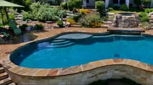 luxury above ground swimming pool youtube