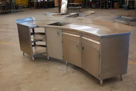 Stainless Steel Kitchen Work Table Designs  Popular Stainless - Stainless steel kitchen tables