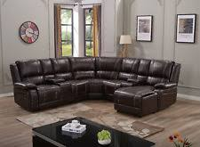 leather sectional recliner sofas loveseats u0026 chaises ebay
