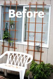 Privacy Trellis Ideas by I Love That Junk Lovely Vertical Herb Garden Trellis Wall