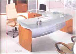 Modern Glass Top Desk Glass Top Desk Metro Architect Desk Glass Top Writing Desk For