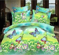 Velvet Comforters King Size Luxury 3d Butterfly Bedding Set Queen King Size Cotton Comforter