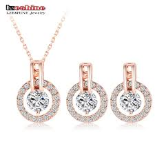 earring necklace set images Online shop lzeshine new big sale wedding jewelry sets for women jpg
