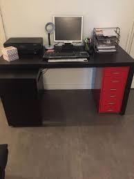 bureau avec tablette coulissante achetez bureau avec tablette occasion annonce vente à lille 59