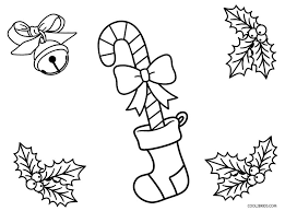 Free Printable Candy Cane Coloring Pages For Kids Cool2bkids Color Page