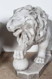 marble lions for sale pair of italian marble lions for sale at 1stdibs