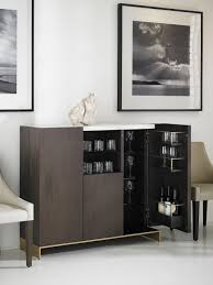 Mini Bar Furniture by Crate And Barrel Oslo Bar Cabinet Best Home Furniture Decoration