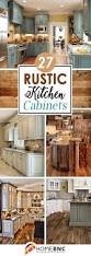 rustic kitchen cabinet ideas home design