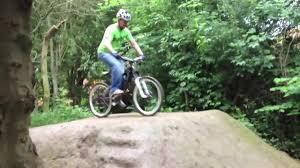 mtb bmx dirt jump squirrels dirt jumps secret location youtube