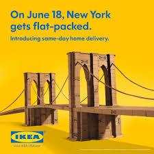 www ikea usa com ikea brooklyn bridge print image creativity online