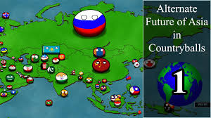Interactive Map Of Asia by Alternate Future Of Asia In Countryballs Episode 1 Go Solve It