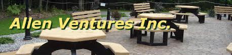 Outdoor Furniture Plastic by Allen Ventures Recycled Plastic Outdoor Furniture U0026 Plastic Lumber
