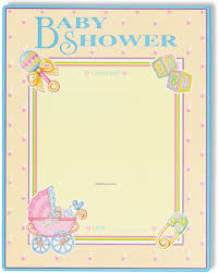 baby shower poster logo baby shower partygraph poster custom customized personalised