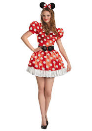 Size Burlesque Halloween Costumes Size Red Minnie Classic Costume