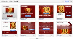 how to use google u0027s display ad builder lucid agency