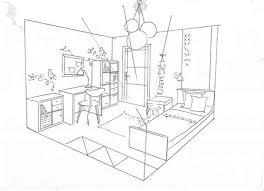 comment dessiner une chambre beautiful chambre en perspective dessin images matkin info