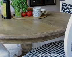 simple details diy arhaus inspired weathered table