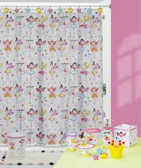 Bath Shower Curtains And Accessories Fairy Princesses Shower Curtain And Bathroom Accessories