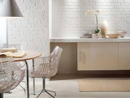 33 modern interior design ideas emphasizing white brick walls