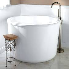 Small Bathroom With Freestanding Tub Small Freestanding Soaking Tub U2013 Seoandcompany Co
