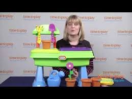 Little Tikes Play Table Little Tikes Garden Table From Mga Entertainment Youtube