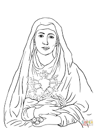 angel appears to mary coloring page catholic printables hail mary